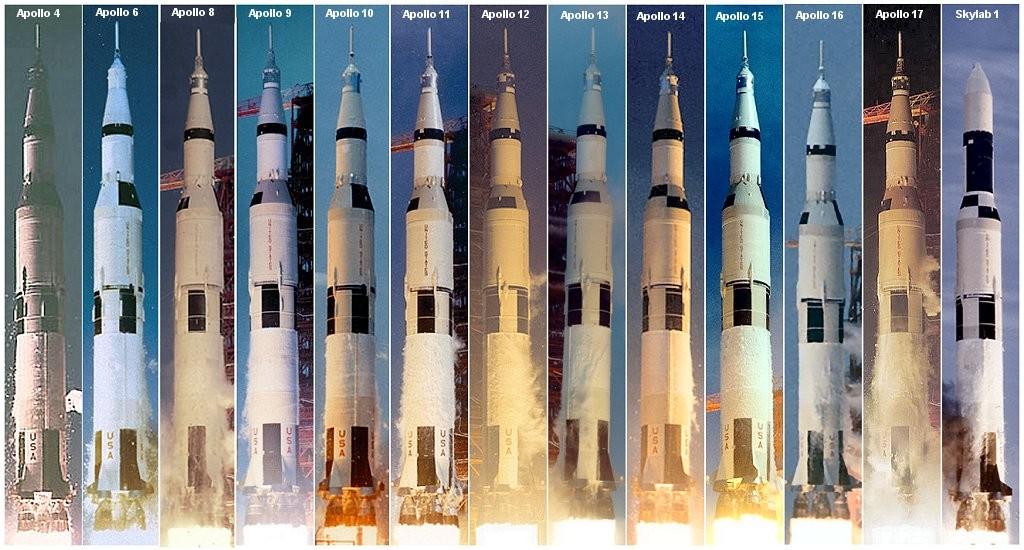 새턴 V 로켓 한 대 만드는데 얼마나 들까?