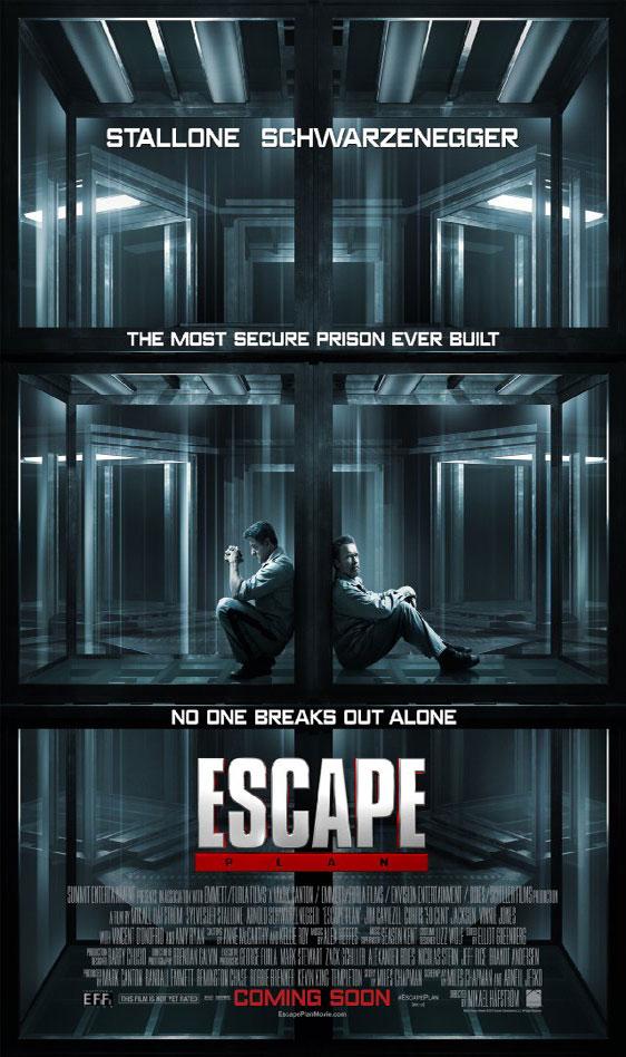 """실베스터 스텔론 + 아놀드 슈워제네거! """"Escape Pl.."""