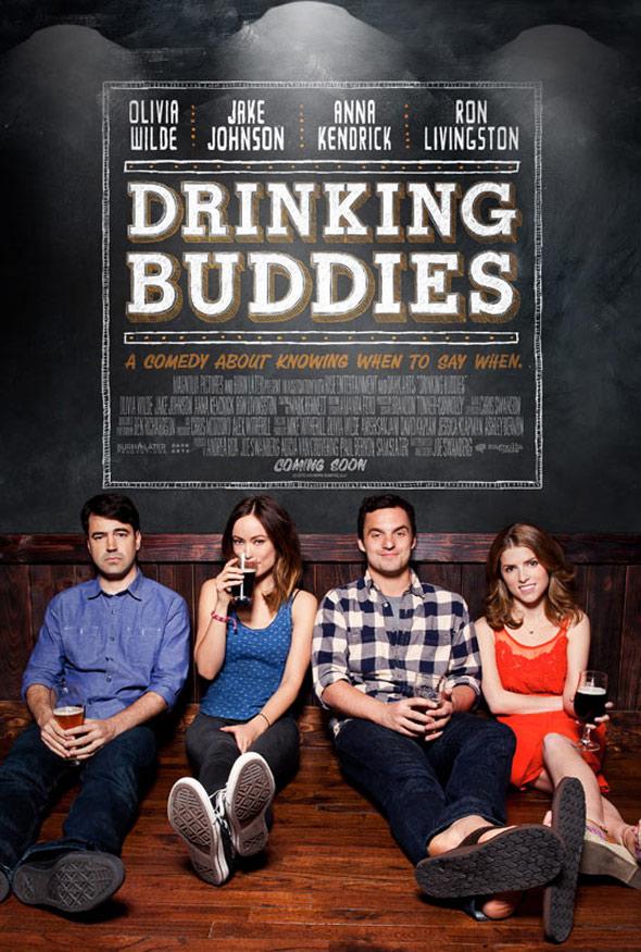"""제목부터가 술 친구들;;; """"Drinking Buddies"""" 에고.."""