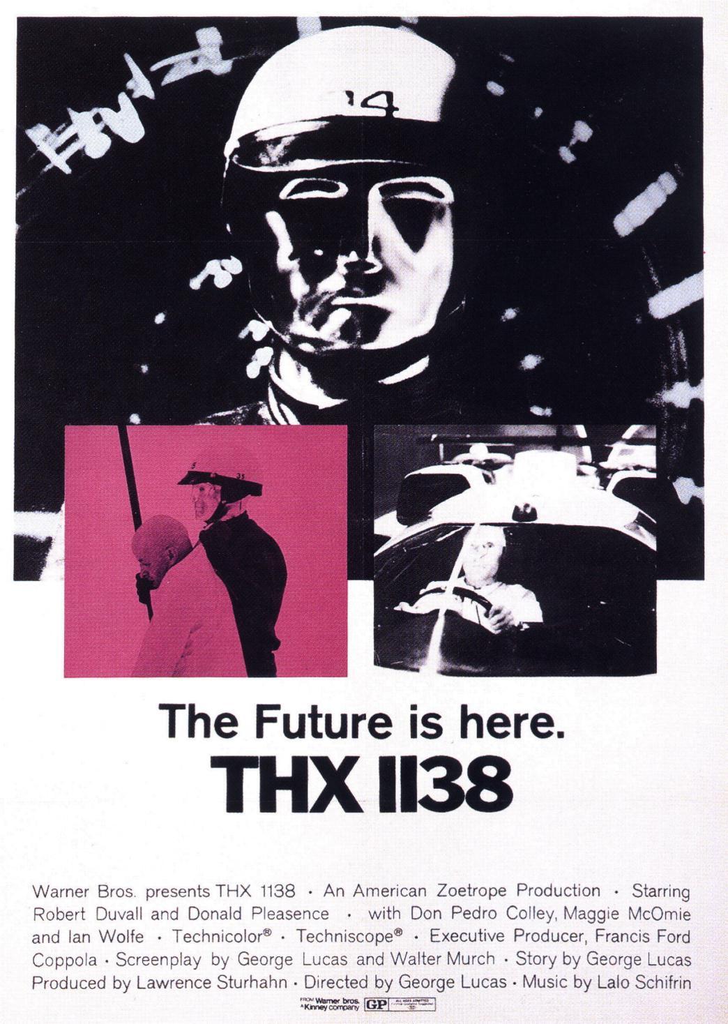 THX 1138 - 디스토피아의 정수가 온몸에 스미게 하는..
