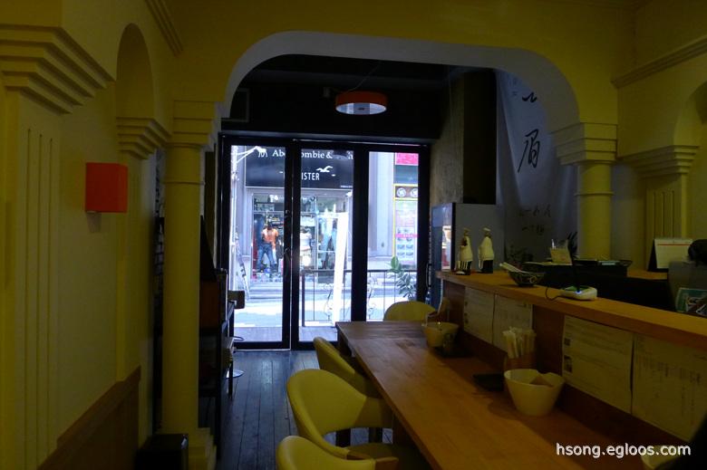 [춘천] 하쿠비(白眉) - 치즈 케익 권하는 라멘 가게