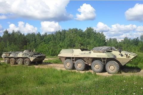 러시아의 미래 차륜형 장갑차 베이스 테스트가 대..