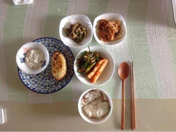 토요일 아침밥상-타르타르소스랑 생선커틀릿.생..
