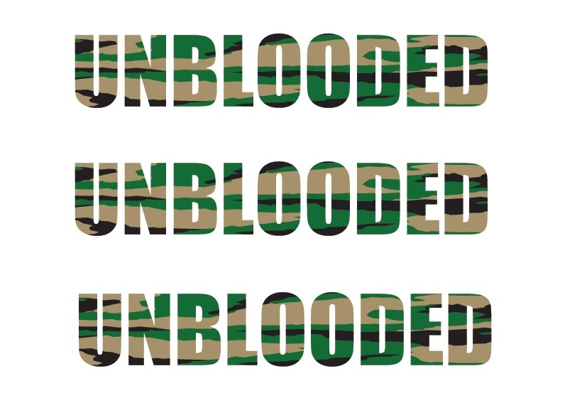 UNBLOODED (camo ver.)
