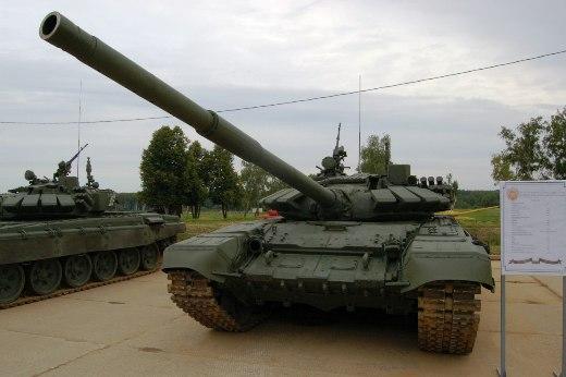 땅크 바이애슬론때 기밀 헤제된 T-72B3