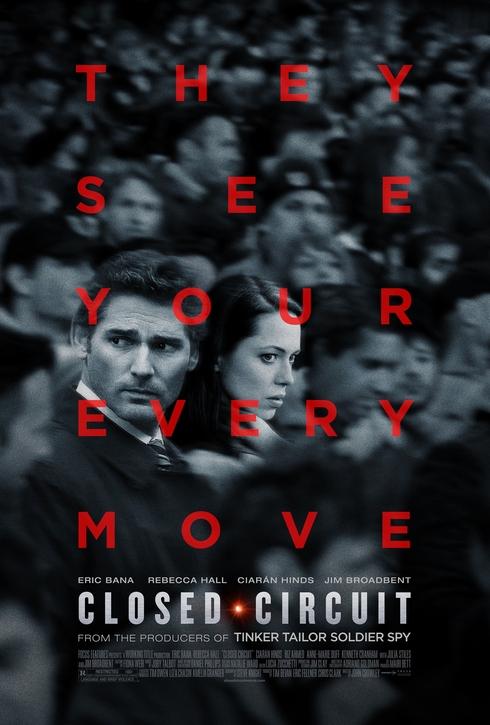 """에릭 바나의 신작, """"Closed Circuit"""" 입니다."""