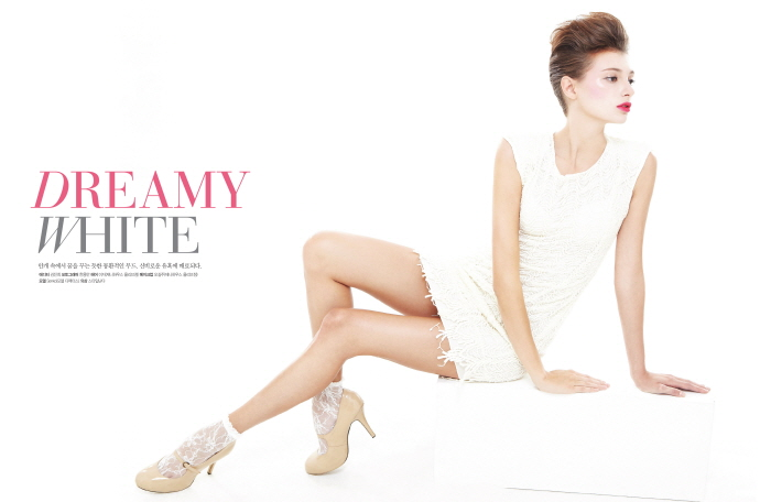 GRAPHY Nov. 2012 DREAMY WHITE [제니하우..
