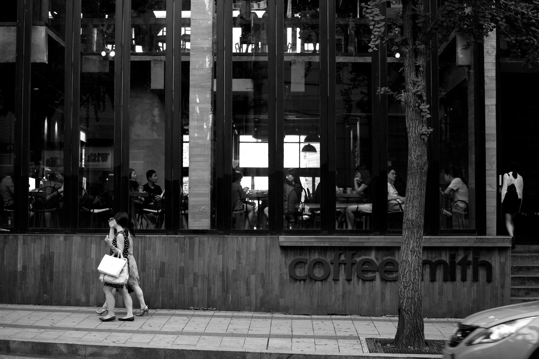 홍대 커피 스미스