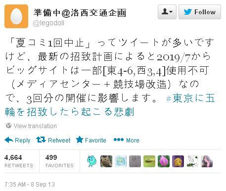 2020년 도쿄 하계 올림픽의 영향을 받을 수 있는 코..