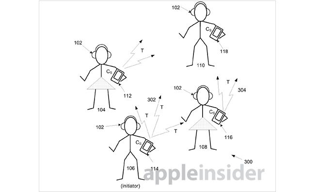 애플에서 Silent Disco 관련 특허를 내놓으려 하..
