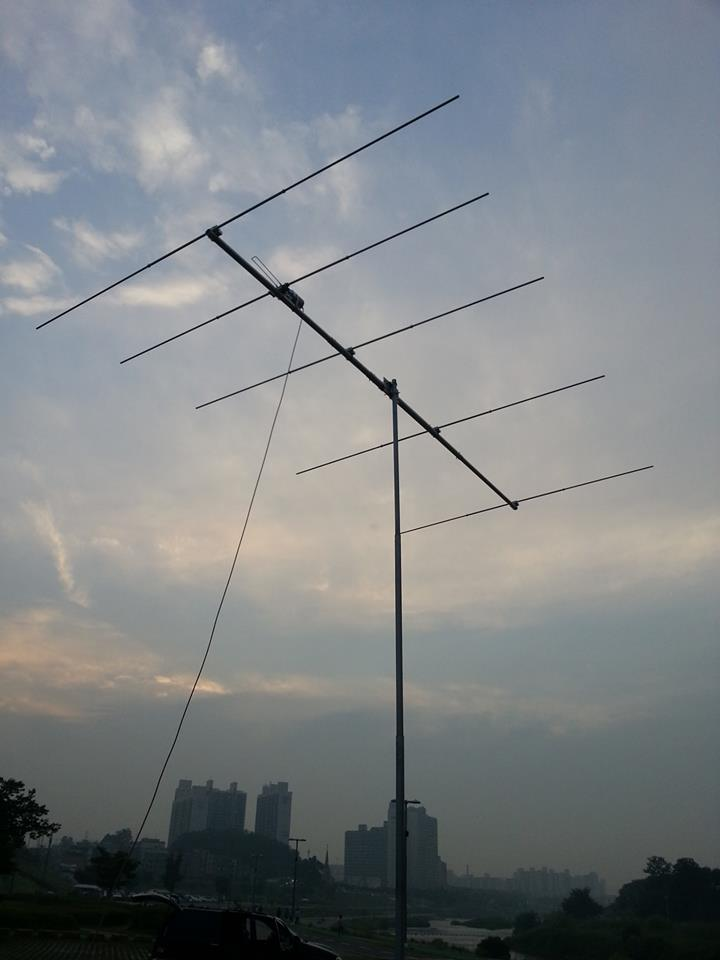 6m (50MHz) 5 Elements Yagi, Matrials