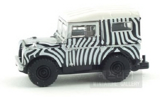 [모형]1/87 Landy Safari & Horsebox trailer