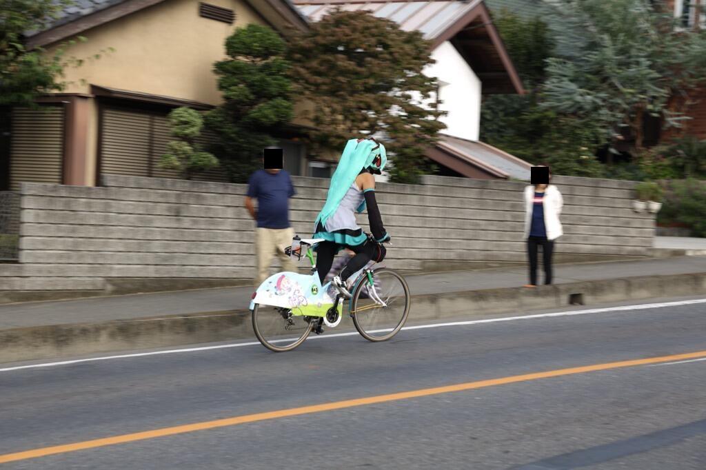 「아카기 산 힐 클라임」이란 진심 자전거 레이스에..