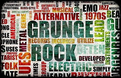 Grunge 그런지 연보 (시애틀 4인방을 중심으로-..