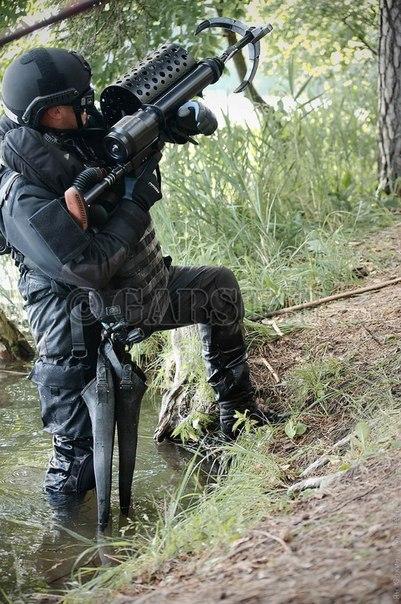 흔한 벨라루스의 KGB 소속 스페츠그루빠 '알파'