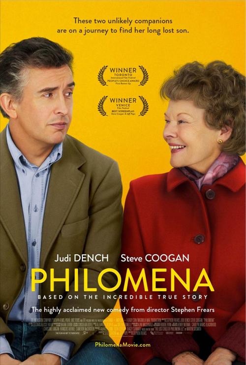 """스티브 쿠건 + 주디 덴치, """"Philomena"""" 입니다."""