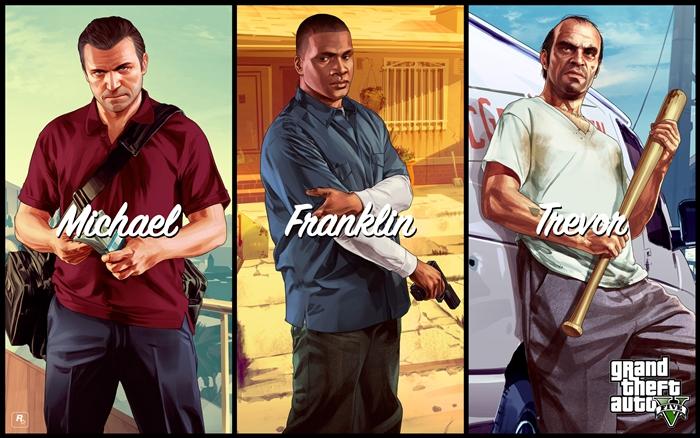 GTA 5 – 자본주의사회를 질주하는 놈놈놈 (上)
