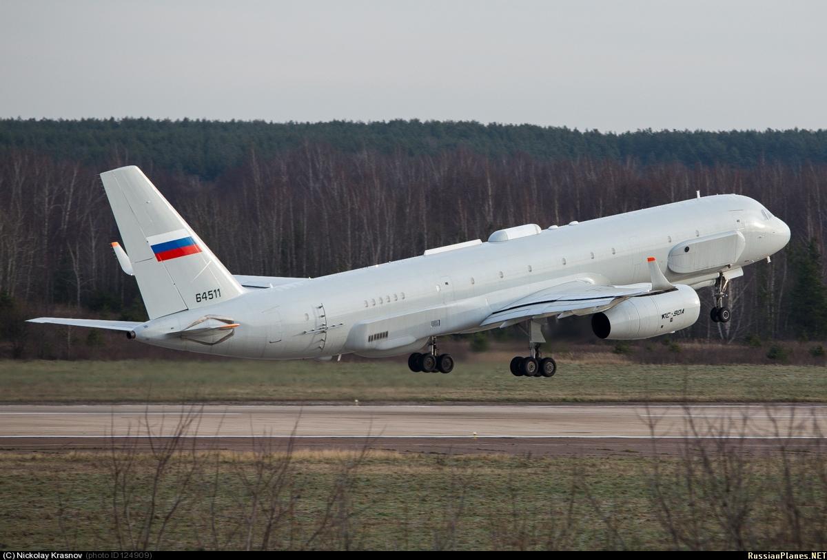 정찰기 Tu-214R 짤