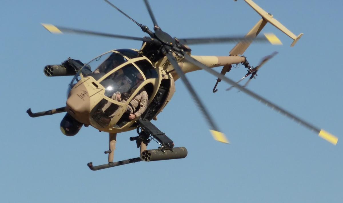 AH-6i 경공격헬기의 정식 수출을 승인받은 보잉