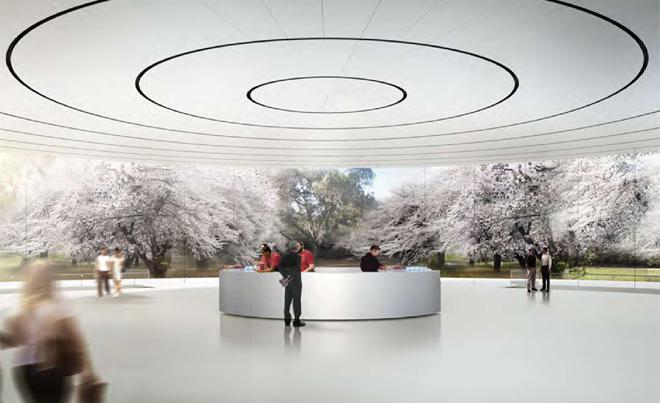 애플의 새 사옥 이미지들입니다.