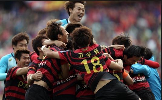 포항 스틸러스 K-League Classic 극적 우승~!