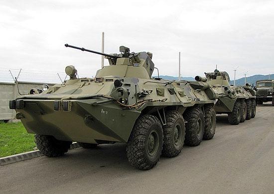 중앙군관구에 BTR-82AM을 배치한다