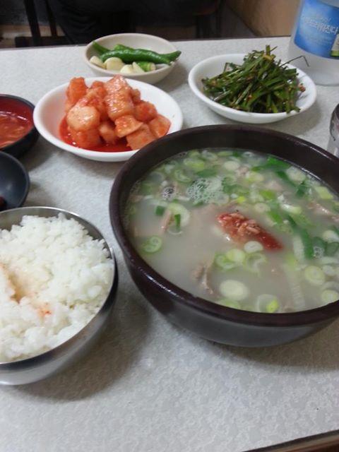 마장동 순대국밥