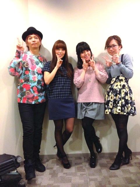 성우 아사누마 신타로씨가 자신의 트위터에 올린 사진