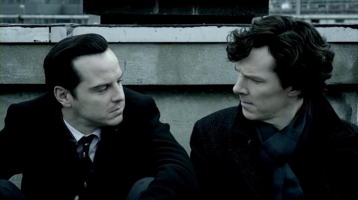 Sherlock s3e1/셜록 시즌3 1화, Empty Hearse..