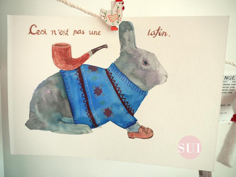이것은 토끼가 아니다.