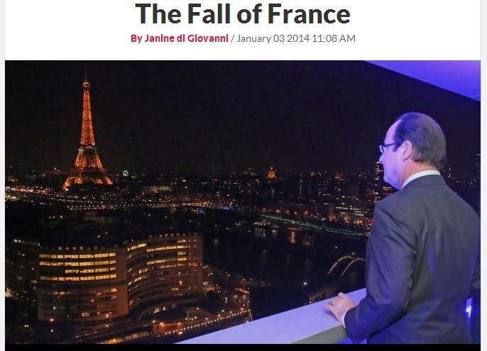 프랑스의 몰락?