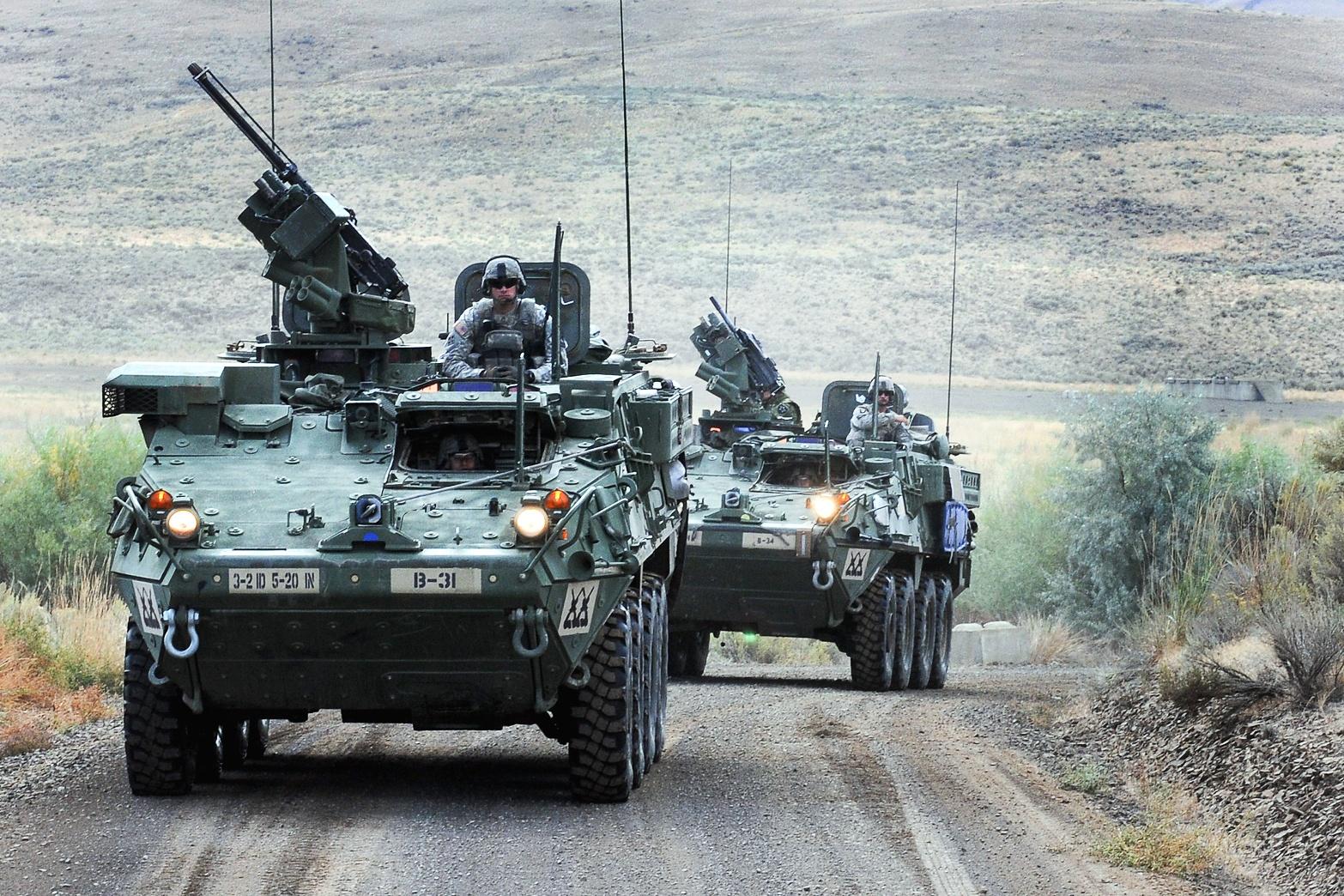 모든 스트라이커 여단의 장갑차를 개량하려는 미 육군