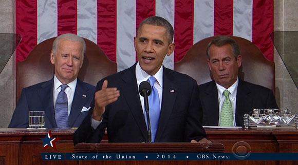 버락 오바마의 신년 국정 연설 上
