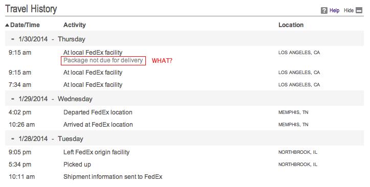 일부러 배송을 늦추는 FedEx의 패기