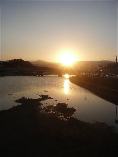 (2014.02.06) 사진 정리 - 석양, 오리, 눈 내린 밤 ..
