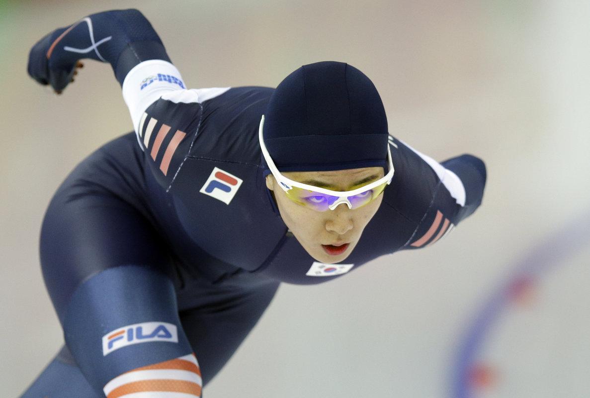 이상화 소치올림픽 500m 금메달