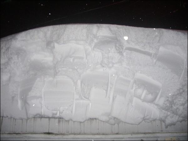 (2014.02.13) 폭설 33.5cm (총 151cm)