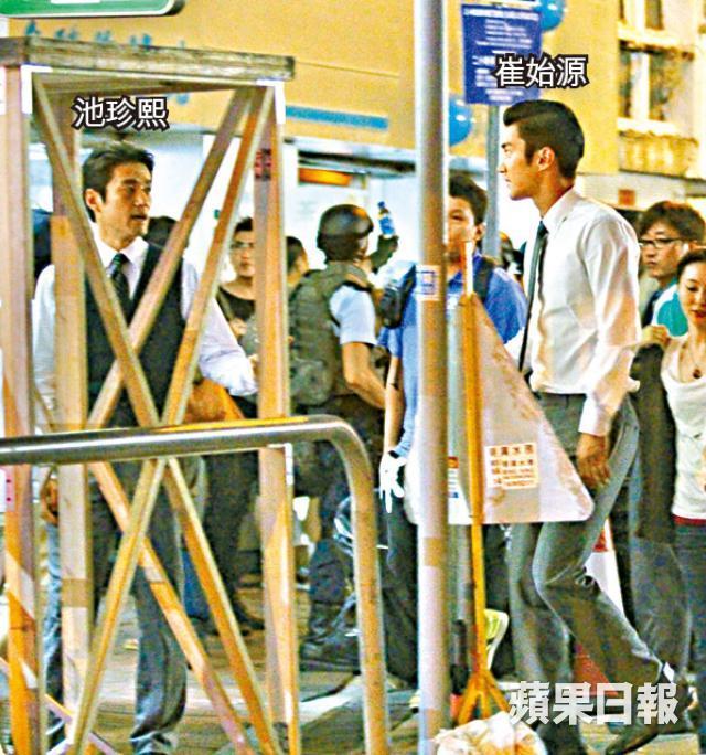 """최시원과 지진희가 나오는 중국 영화라......""""赤道.."""