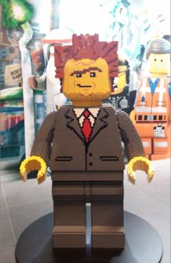 디큐브시티에 있던 레고무비 캐릭터