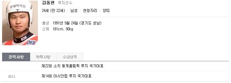 소치 영웅들 - 루지(김동현,박진용,조정명,..