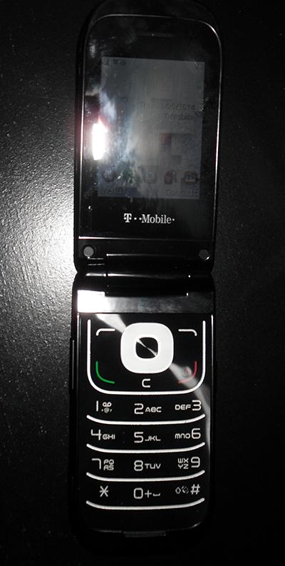 새로운 휴대폰을 구입했습니다.