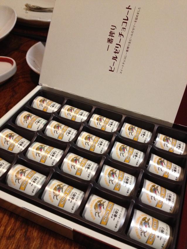 요코하마 기린 비어빌리지 한정- 기린맥주 쵸콜렛