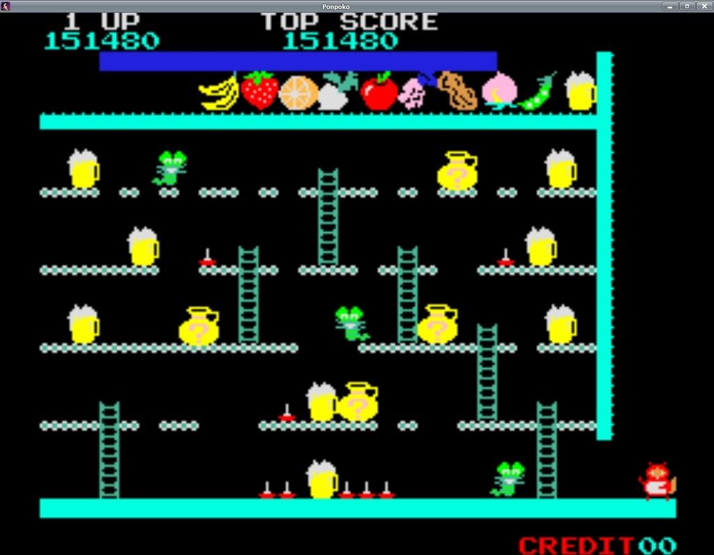 추억의 80년대 오락실 게임