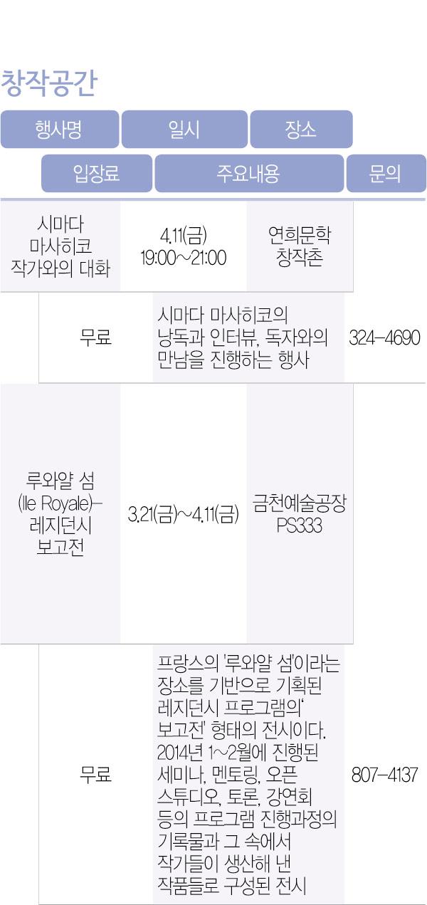 스크랩] 수정) 2014+4 -4 기관별행사 2/2 < 서울시 ..
