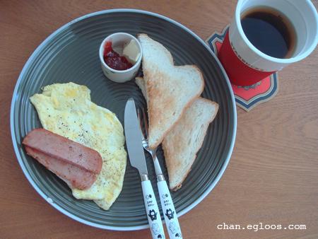 원조 아침식사