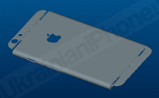 아이폰6의 3D 렌더링마져 돌아다니네요.