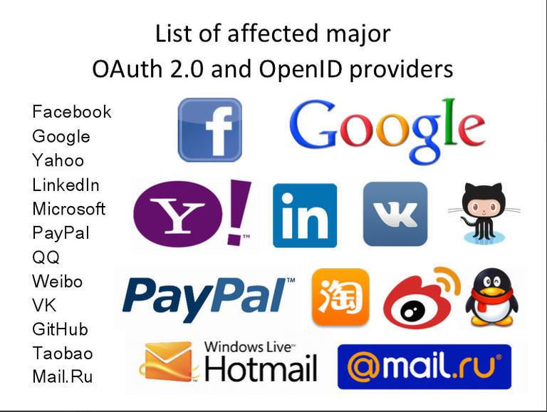OAuth와 OpenID에서 심각한 취약성 발견, Fac..