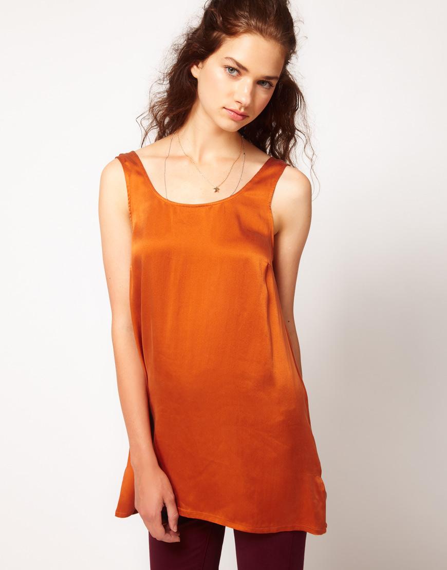 여성복(Twist & Tango Plait Detail Vest Top)