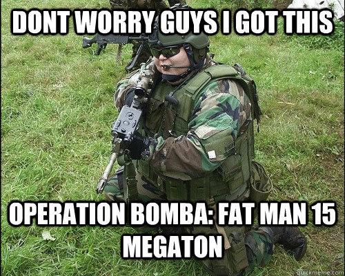 """미 육군, 미래의 애들이 """"너무 뚱뚱해서 못싸울 것.."""