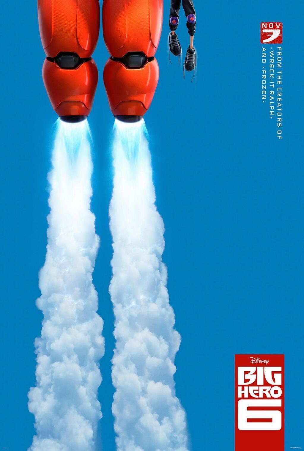 """디즈니의 신작, """"BIg Hero 6"""" 티져입니다."""
